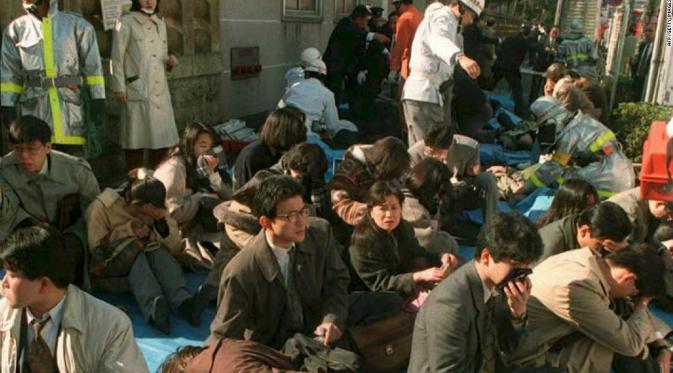 Kisah Zat Berbahaya Sarin yang Pernah Menyerang Jepang