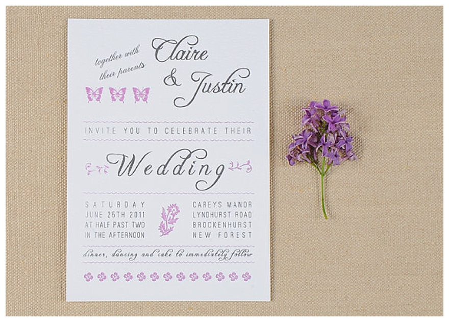 How Big Are Wedding Invitations: Possibly The Best Wedding Stationery Ever
