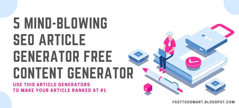 Free Article Generator Online