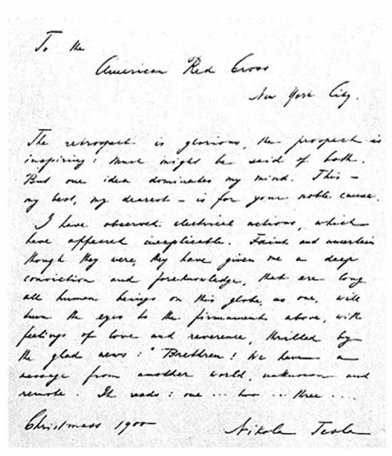 Nhà khoa học Nikola Tesla từng xác thực sự tồn tại của người ngoài hành tinh từ 100 năm trước