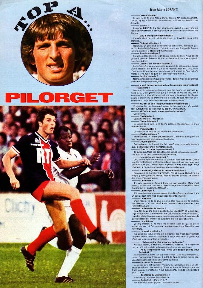 FOCUS ON. Jean-Marc Pilorget.