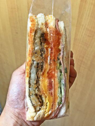 【新莊】美津素食漢堡