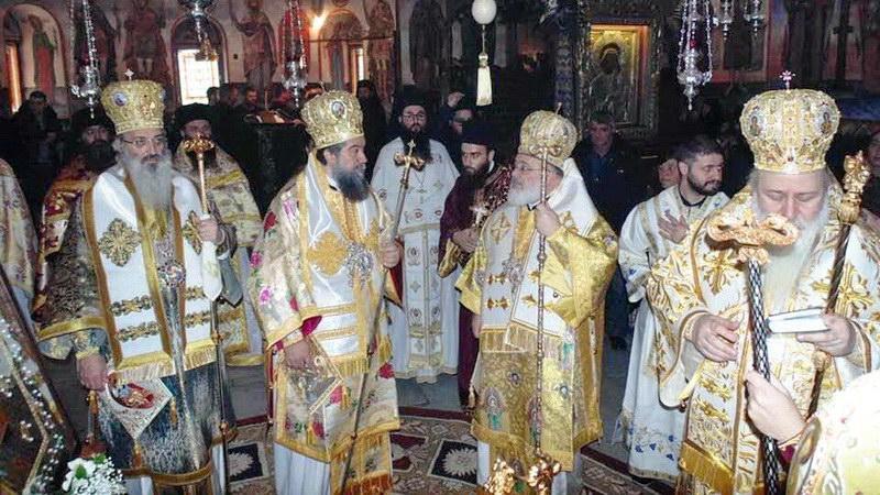Ο Μητροπολίτης Αλεξανδρουπόλεως στο Ιωβηλαίο του Επισκόπου Βελίκης κ. Σιωνίου στο Μπάτσκοβο της Βουλγαρίας