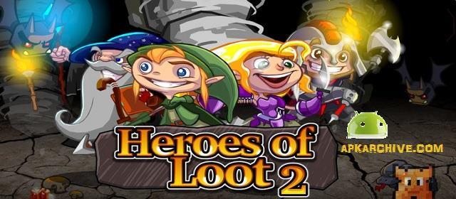 Heroes of Loot 2 Android Rol Oyunu indir apk indir