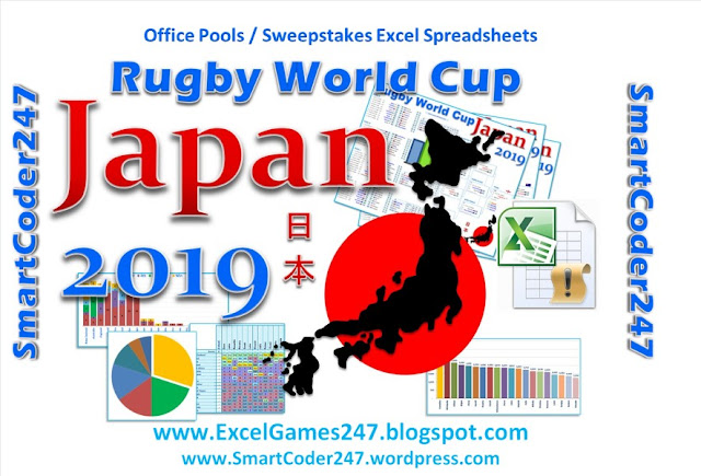 Smartcoder 247 - Japan 2019 Rugby World Cup Excel Templates