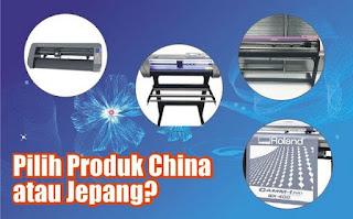 pilih msein cutting china atau jepang