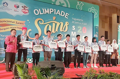 Juara OSN 2019 tingkat SMP