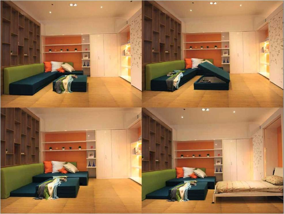 Ergo gives living solutions to small spaces hello - Turning living room into a bedroom ...
