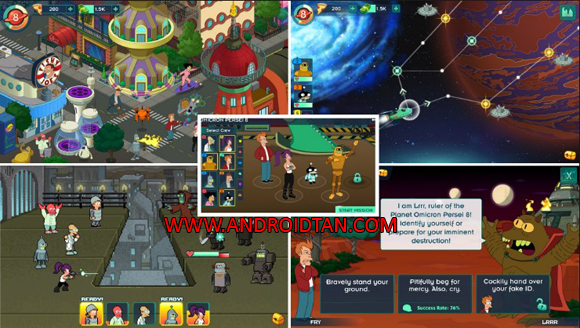 terbaru kepada kalian semua sehingga kalian sanggup mempunyai game android terupdate setiap  Futurama Worlds of Tomorrow Mod Apk v1.3.3 Unlimited Money Terbaru
