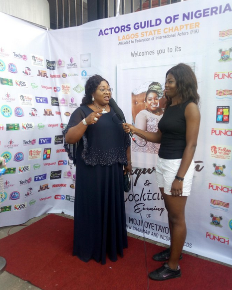 Actors-Guild-of-Nigeria-Lagos-Chapter-inaugurates-Excos-Gloria-Anozie-Young