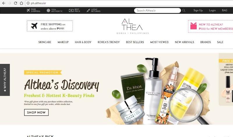 K-Beauty Shopping @AltheaKorea