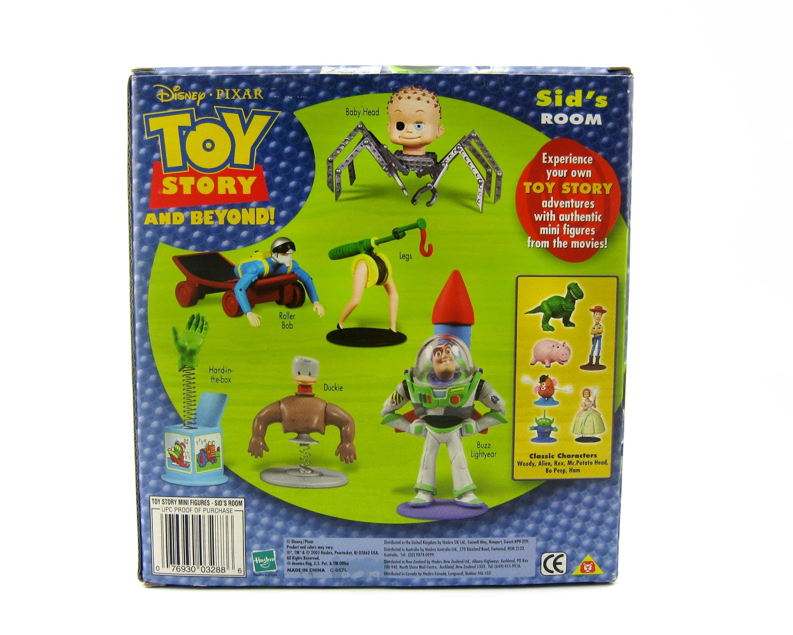 Toy Story Action Figures Set : Dan the pixar fan toy story sid s room figure gift pack hasbro