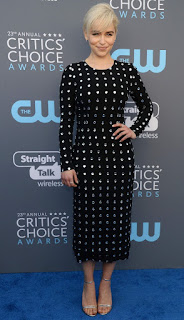 Emilia Clarke At 2018 Critics Choice Awards In Santa Monica