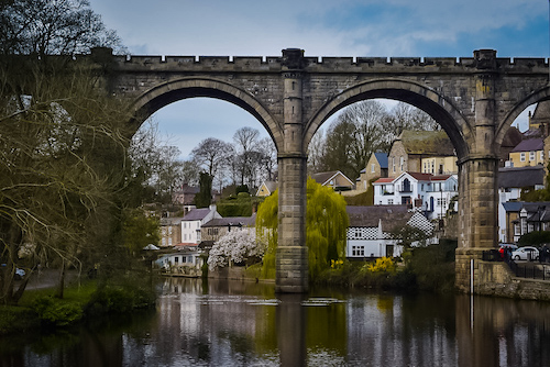 Things to do in Knaresborough - River Nidd viaduct