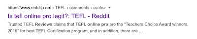 Is tefl online pro legit?: TEFL - Reddit