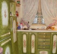 Декупаж для кухни: обновление мебели