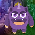 Games4King Violet Creature Escape