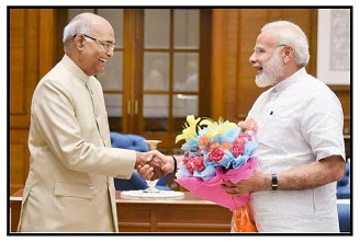 President of india, vice president, prime minister