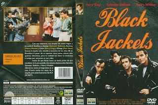 Carátula Black jackets. Días felices