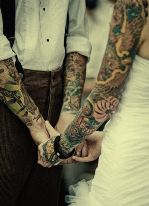 25 So Sweet Couple Tattoos Ideas