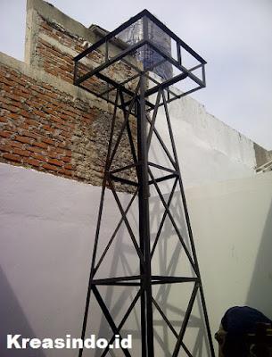 Daftar Harga Menara Air atau Tower Air dari Besi atau Stainless