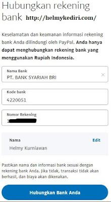 Menghubungkan bank lokal ke akun paypal1