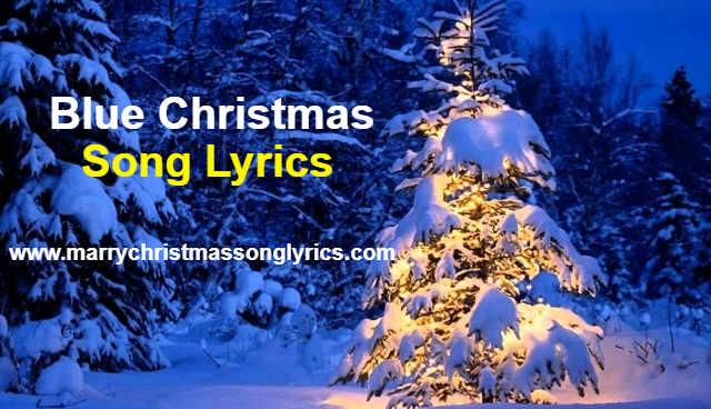 Blue Christmas Lyrics