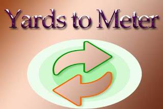 Yards to Meters