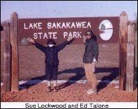 Ed Talone and Sue Lockwood