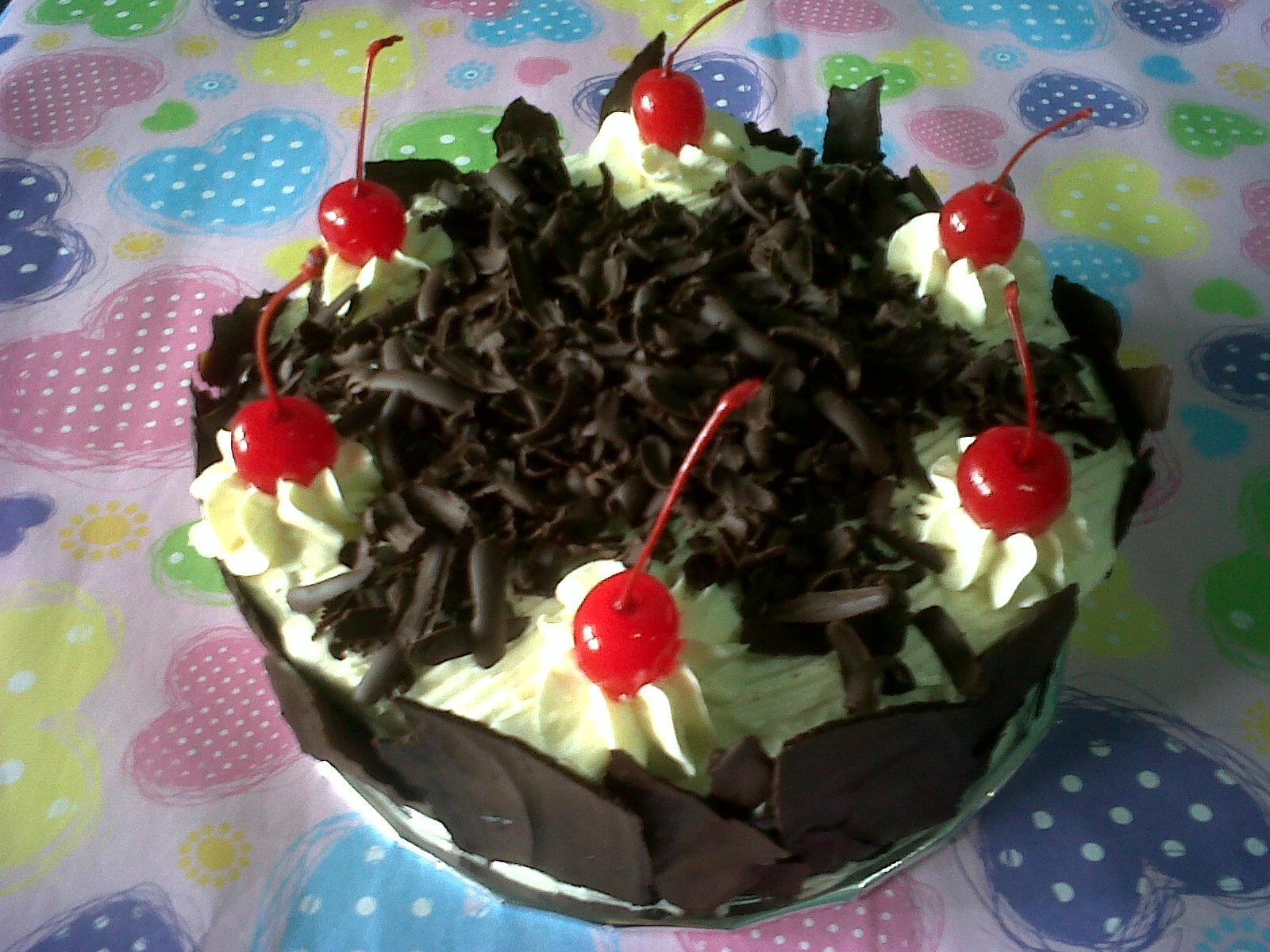 Sweet Cherry Cake Kue Ultah Anak