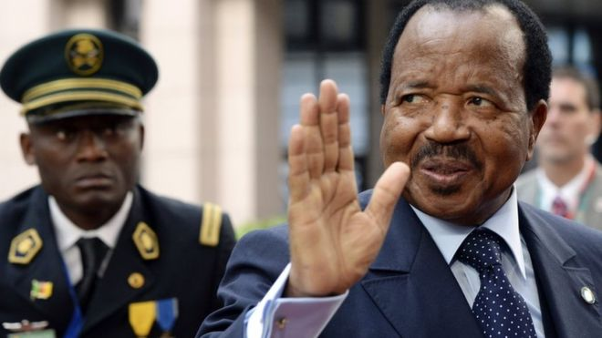 Cameroon jails President Biya critic for 25 years