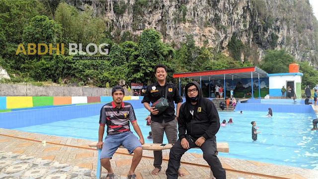 Kolam Dolli Bungaeja Primadona Permandian Baru di Bantimurung Maros