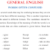 GENERAL ENGLISH WORDS OFTEN CONFUSED Notes PDF Examples Practice Test