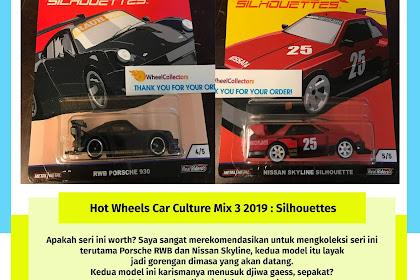 Hot Wheels Car Culture Mix 3 2019 : Silhouettes