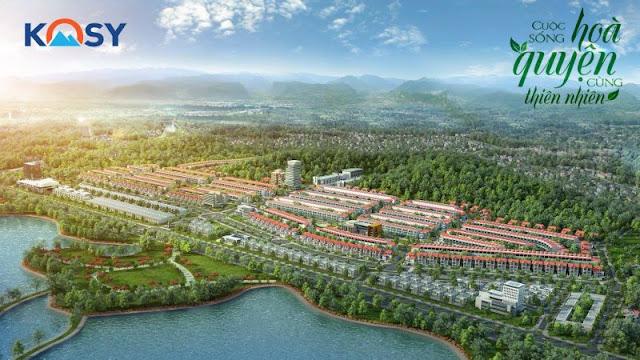Phối cảnh khu đô thị Kosy Lào Cai