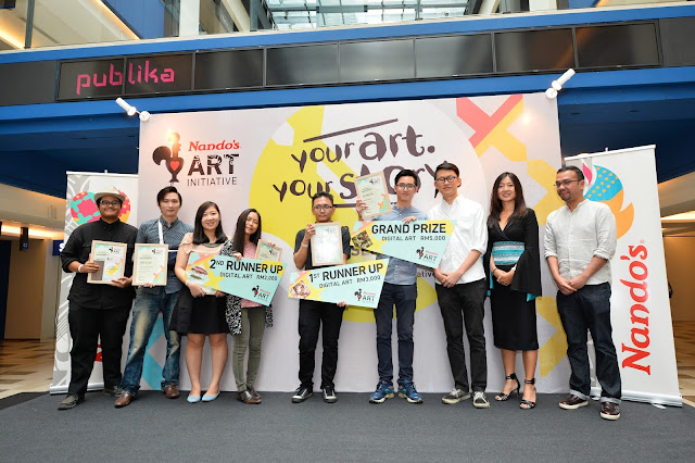 Nando Art Initiative 2016; Nando Art Initiative 2016 art exhibition; Nando Art Initiative 2016 art exhibition publika; Nando Art Initiative 2016 publika art exhibition; Nando Art Initiative 2016 winner list; Nando Art Initiative 2016 winners art exhibition; Nando Art Initiative 2016 launch; Nando Art Initiative 2016 winner announcement; food; food blogger; food review; malaysia food blogger; top food blogger; asia food blogger; asia food portal; malaysia food review portal; lifestyle; lifestyle blogger; malaysia lifestyle blogger; asia lifestyle blogger; top lifestyle blogger; malaysia top blogger; asia top blogger; malaysia popular blogger; asia popular blogger; Singapore food blogger; Singapore food review portal; Singapore lifestyle blogger; Singapore top blogger; Singapore popular blogger; food review in Singapore; western restaurant; fastfood; japanese restaurant; korean restaurant; vietnamese restaurant; chinese restaurant; seafood restaurant; food review in kuala lumpur;