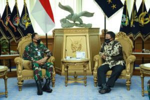 Bahas Potensi Udara, Gubernur Arinal Adakan Pertemuan Dengan KSAU