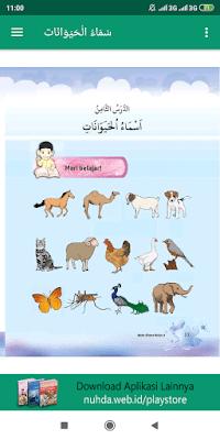 Aplikasi Buku Siswa Bahasa Arab Kelas 3 MI Kurikulum 2013 Revisi 2016
