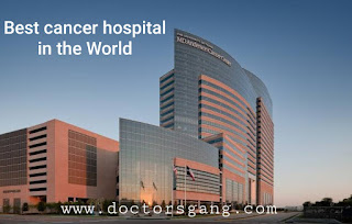 Best cancer hospital in US is MD Anderson cancer center