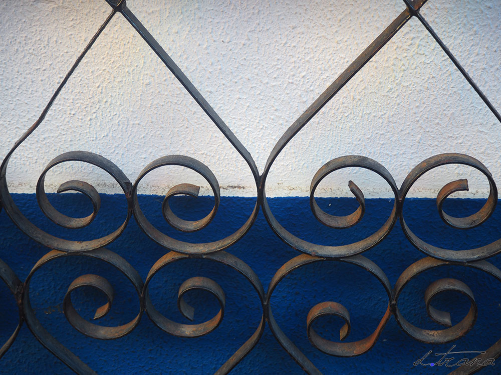 Verja puerta en Alvor - Portugal