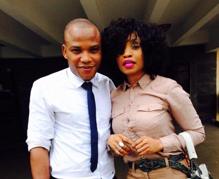 Nnamdi Kanu's wife blasts MEND, Buhari: You cannot speak for my husband