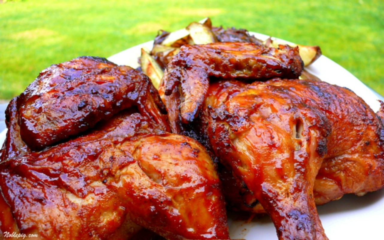 Grilled Chicken The Baker Upsta...
