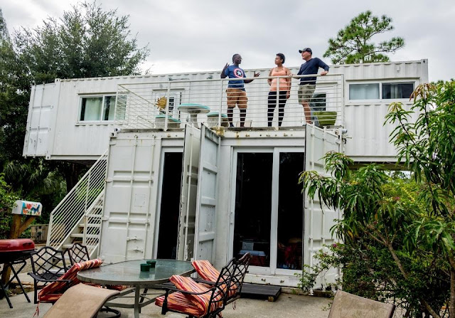 Headwaters Eco Retreat Shipping Container House, Florida 7