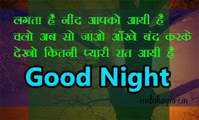 dream good night shayari image