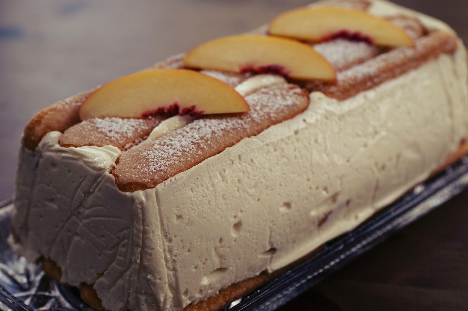 Try To Cook Pfirsichkuchen Mit Loffelbiskuits