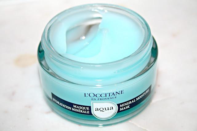 L'Occitane Aqua Réotier Mineral Moisture Mask