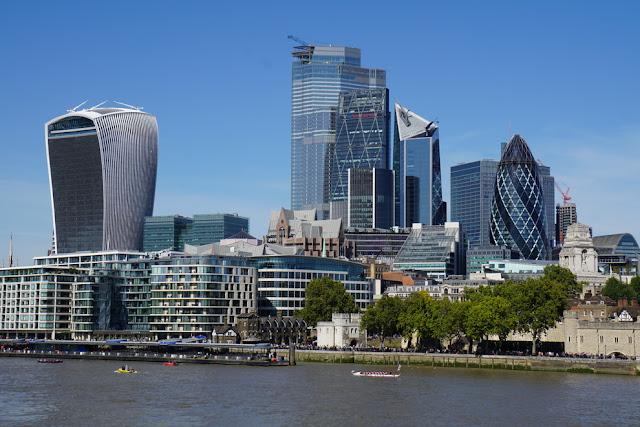 regata no Rio Tâmisa em Londres