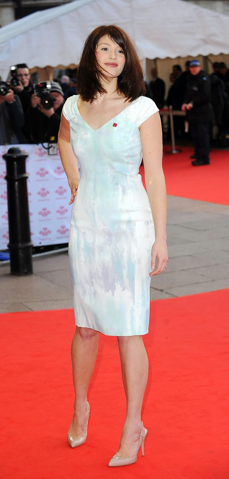 Gemma Arterton No Shorts