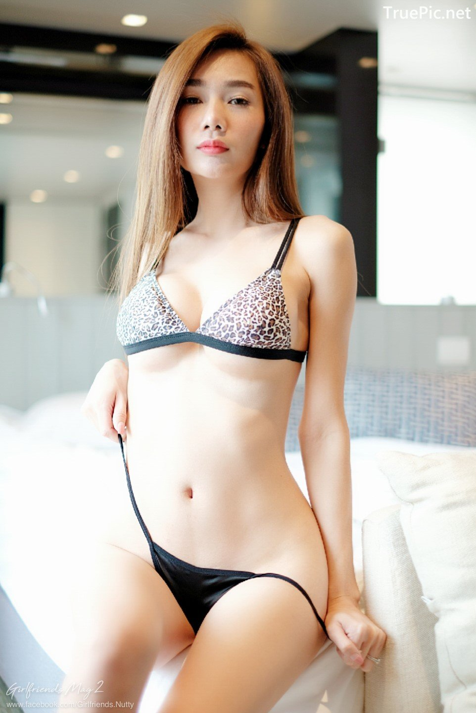 Image Thailand Model - Tadsanapon Kampan - Leopard Bikini - TruePic.net - Picture-1
