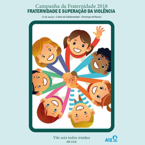 cartaz da campanha da fraternidade 2018 desenho